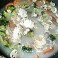 蘑菇墨魚義大利麵3