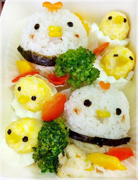 小雞家族飯糰