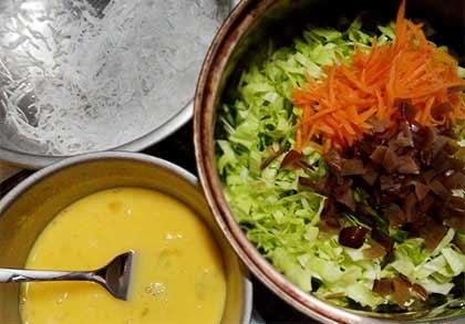 高麗菜素餃1