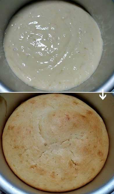 雙色奶油檸檬蛋糕4