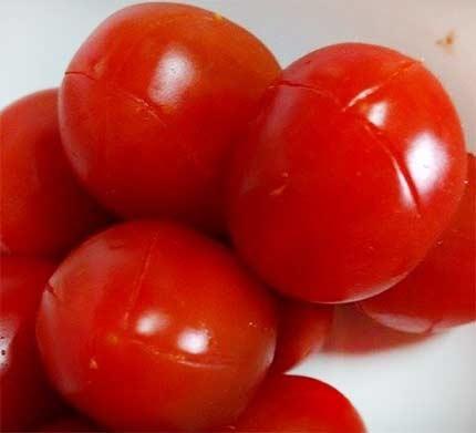 果醋蜜釀小番茄1