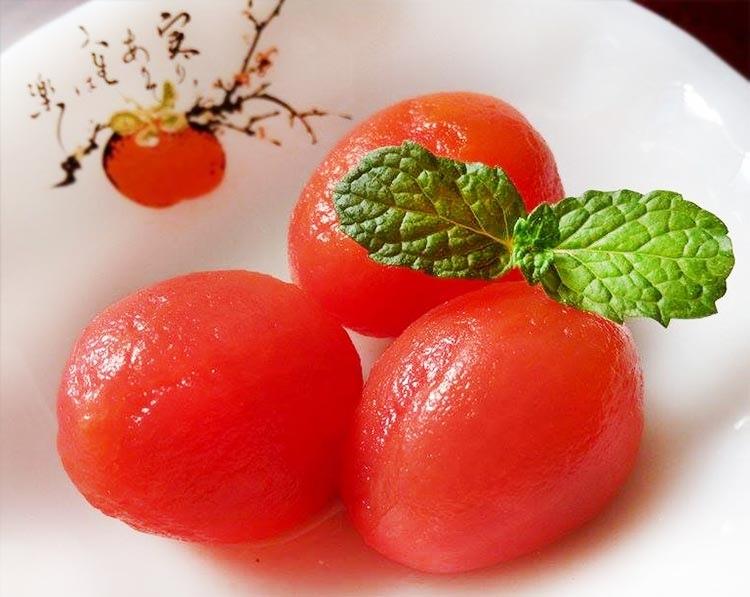 果醋蜜釀小番茄-