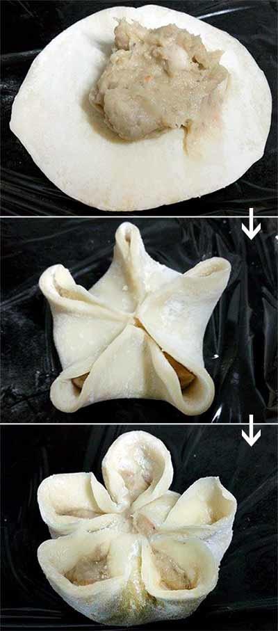 小花芋泥蝦餃3