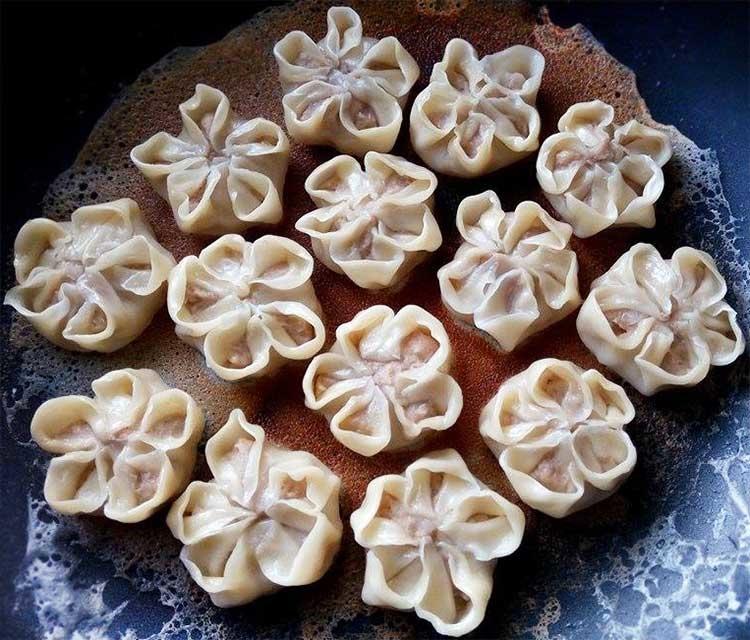 小花芋泥蝦餃5