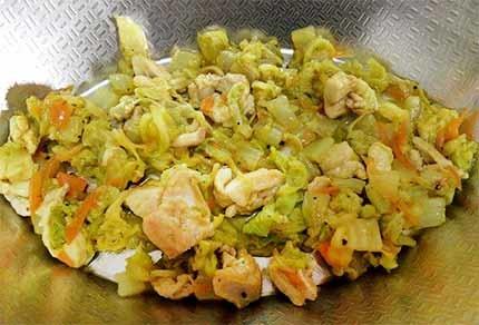 雞肉白菜千層麵2