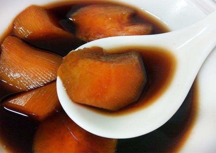 黑糖地瓜薑湯