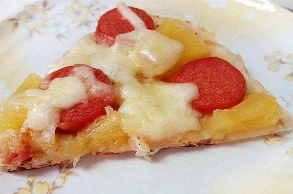 薄皮夏威夷披薩--