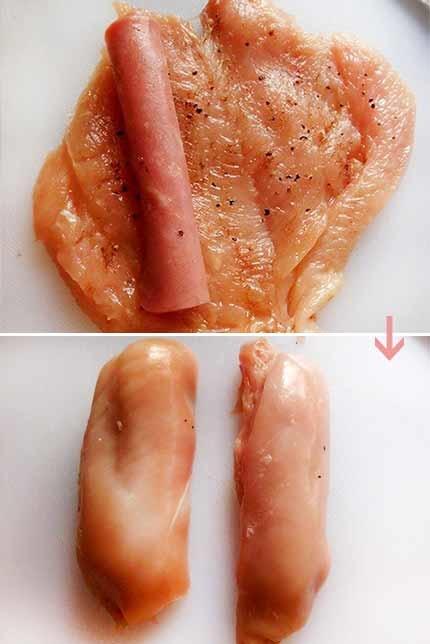 火腿雞肉捲3