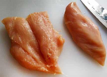 火腿雞肉捲1