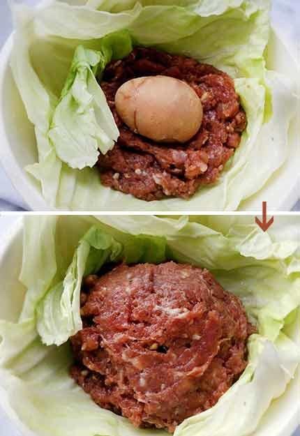 高麗菜封肉4