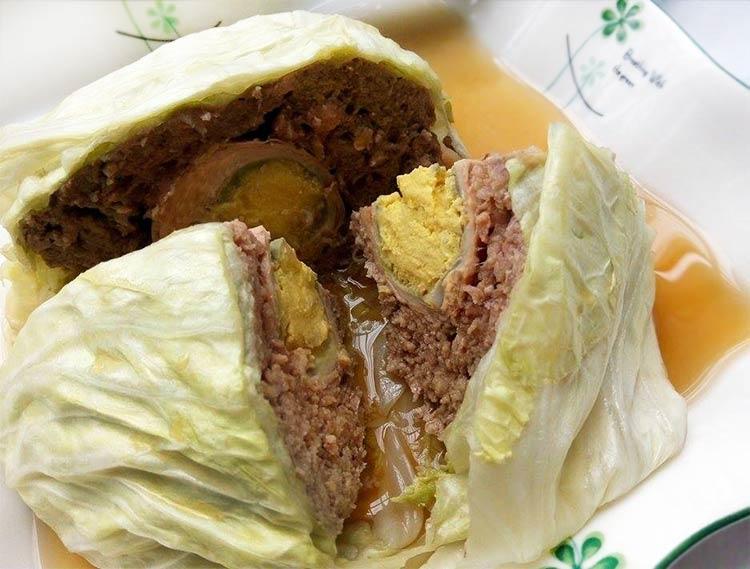 高麗菜封肉
