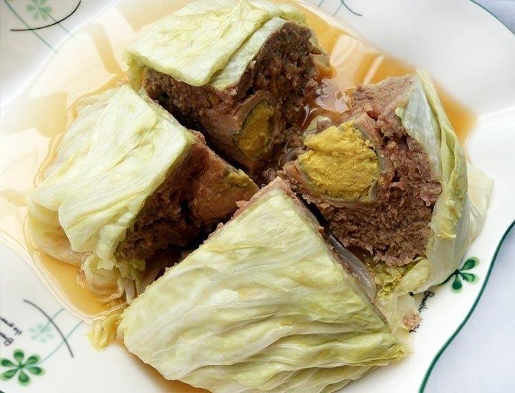 高麗菜封肉-