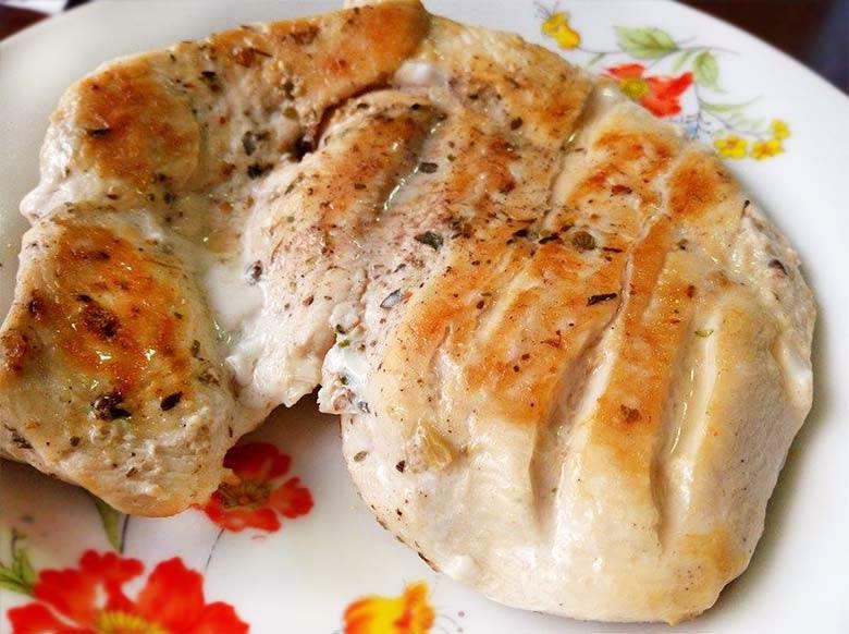 西式香料嫩煎雞排