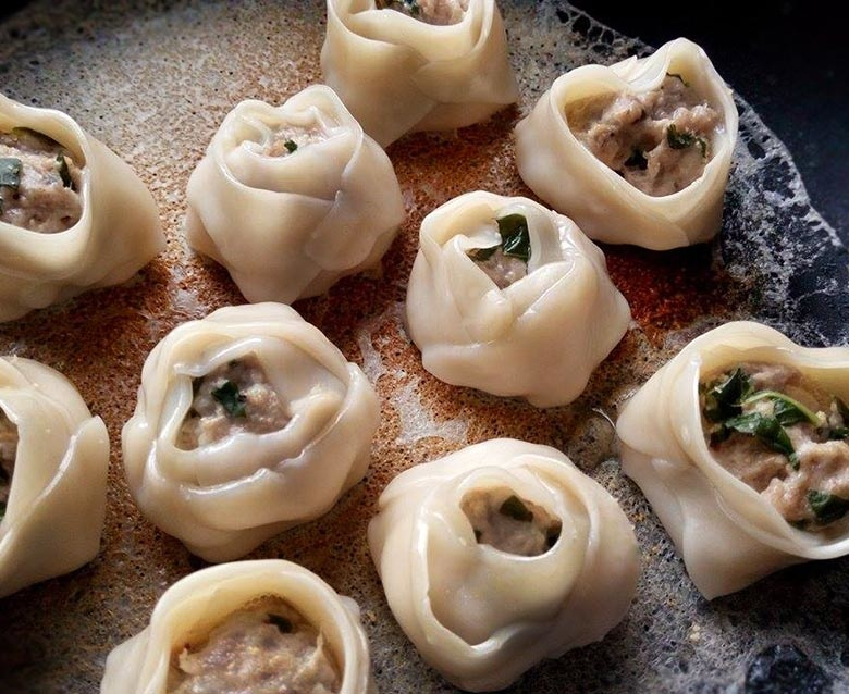 塔香豬肉餃-
