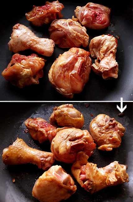 豆瓣醬燒雞腿3