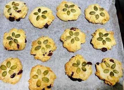 玉米脆片果乾餅乾5