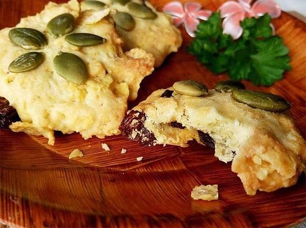 玉米脆片果乾餅乾-