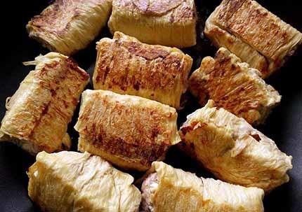 醬燒豬肉豆皮捲6