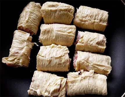 醬燒豬肉豆皮捲5