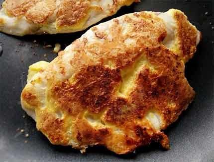 蛋煎起司鯛魚排5