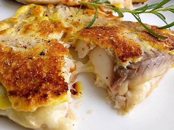蛋煎起司鯛魚排