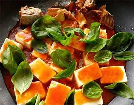 茄汁鯖魚豆腐4