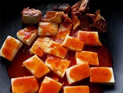 茄汁鯖魚豆腐3