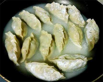 絲瓜豬肉煎餃5