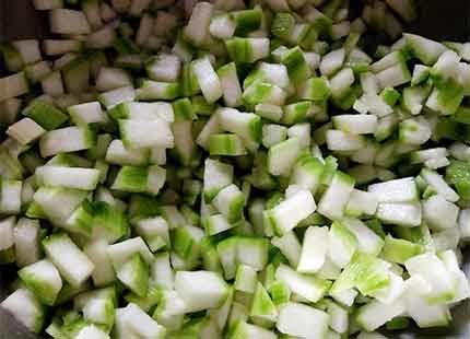 絲瓜豬肉煎餃2