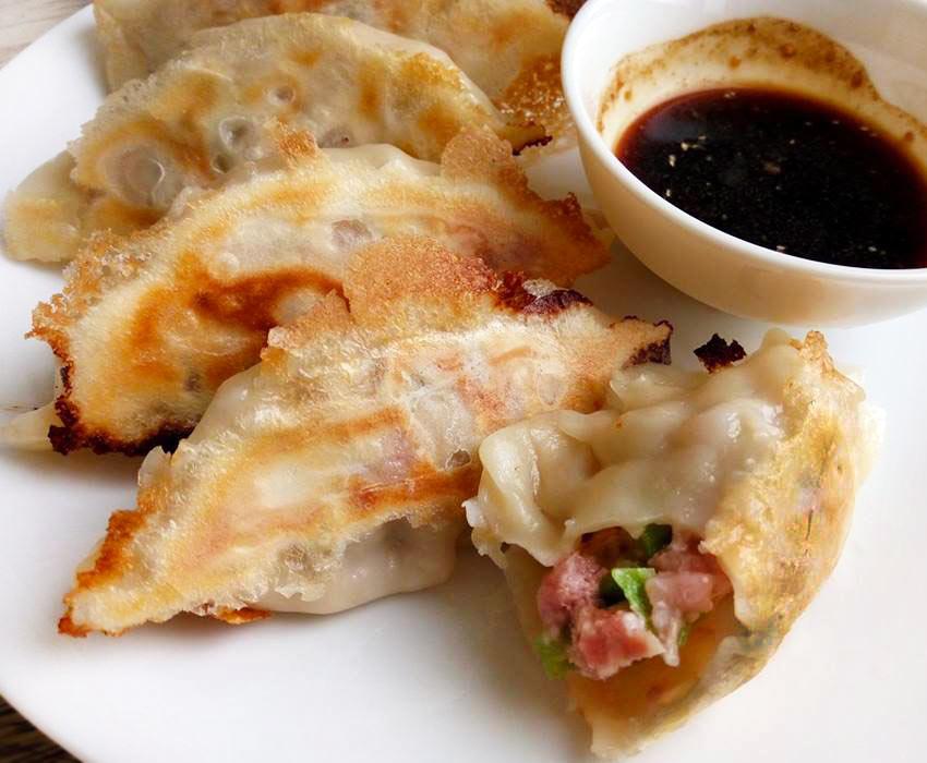 絲瓜豬肉煎餃-