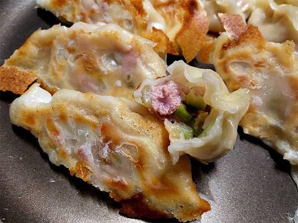 絲瓜豬肉煎餃