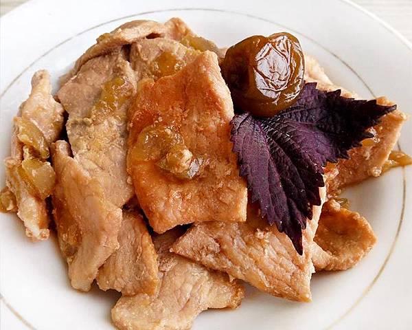 紫蘇梅炒肉