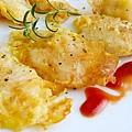 脆煎黃金巴沙魚