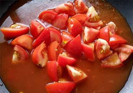番茄蛋炒麵2