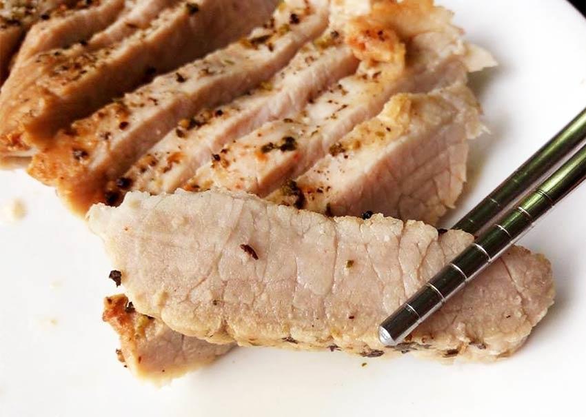 香料厚煎豬排-