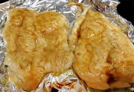 蜜醬烤雞胸4