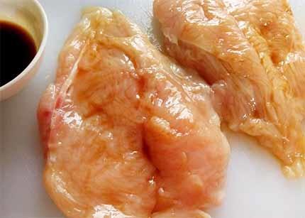 蜜醬烤雞胸2