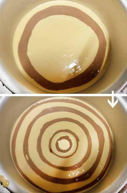 可可花生斑馬紋蛋糕5