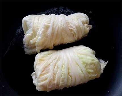 白菜起司雞肉捲7