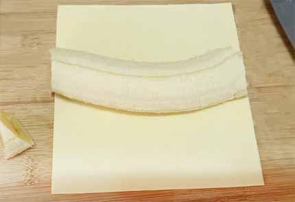 香蕉酥捲1