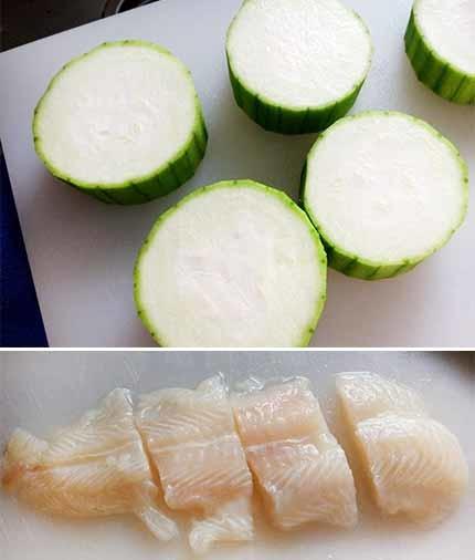 蒜味魚蒸絲瓜冬粉1