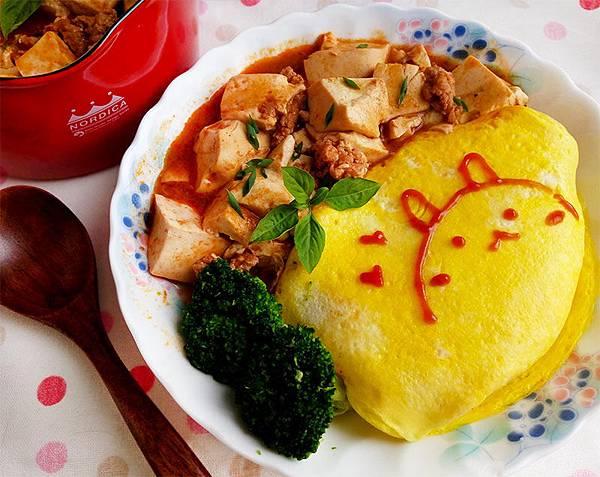麻婆豆腐蛋包飯--.jpg