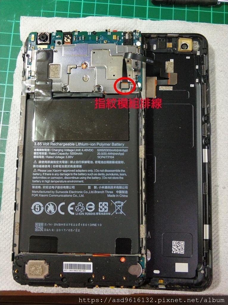 小米MAX2 螢幕+電池更換紀錄 手機拆解 - 27