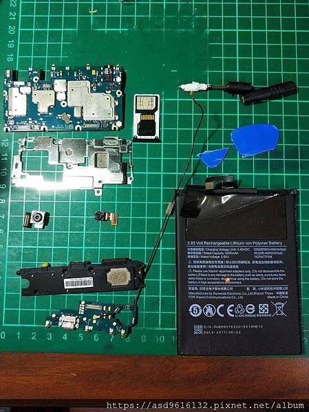 小米MAX2 螢幕+電池更換紀錄 手機拆解 - 43