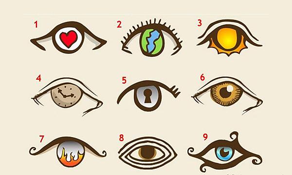 神秘眼測驗│超神準揭開你的內心世界!