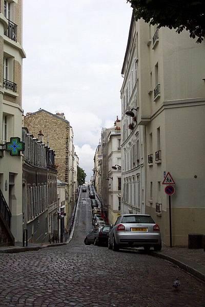 蒙馬特街道