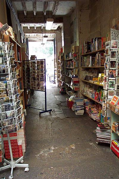 巴士底附近的舊書攤