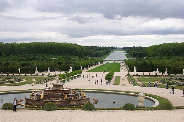 凡爾賽宮-花園