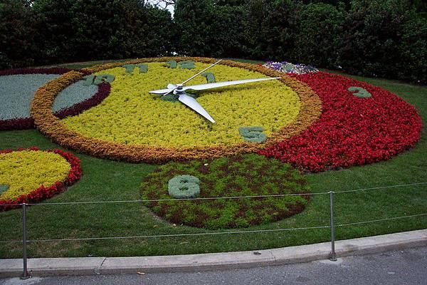 英國公園-花鐘