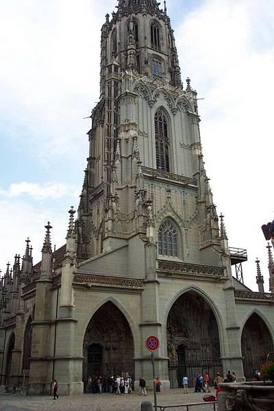 瑞士首都伯恩-大教堂   O.S